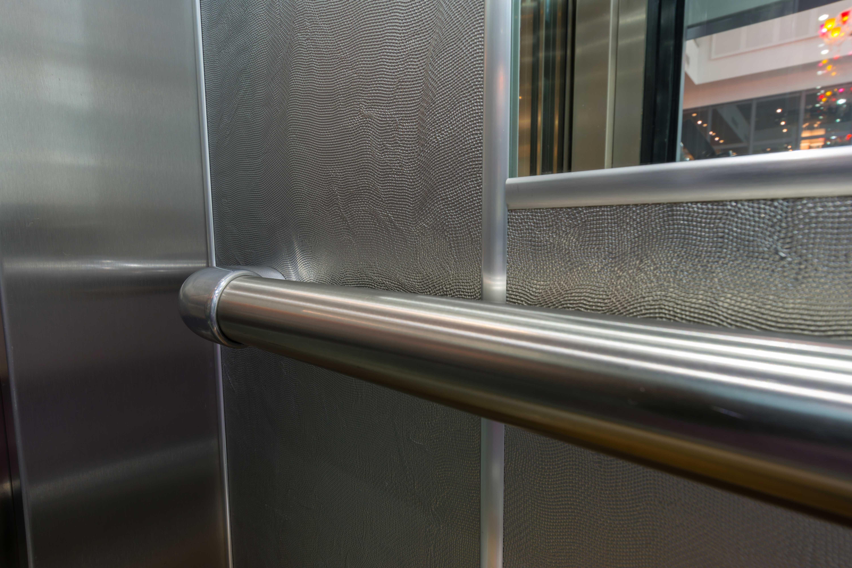Habillage cabine ascenseur ACAF