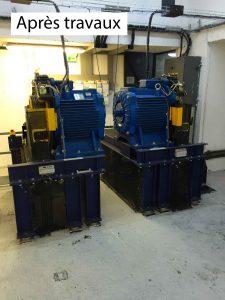 Après modernisation gearless sodimas - ACAF
