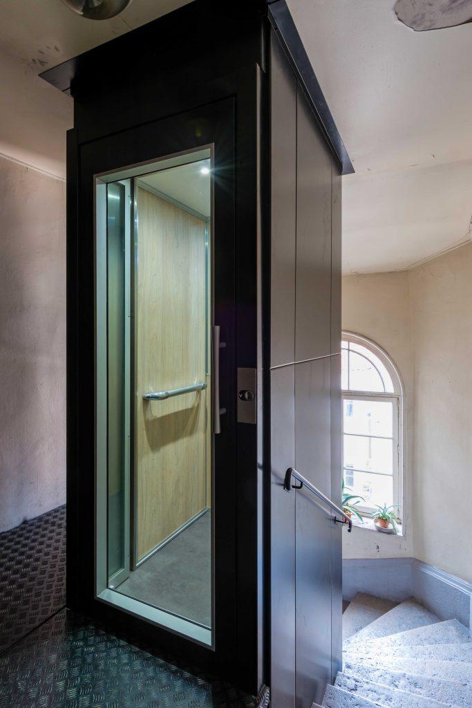Création d'un ascenseur dans un immeuble résidentiel - ACAF