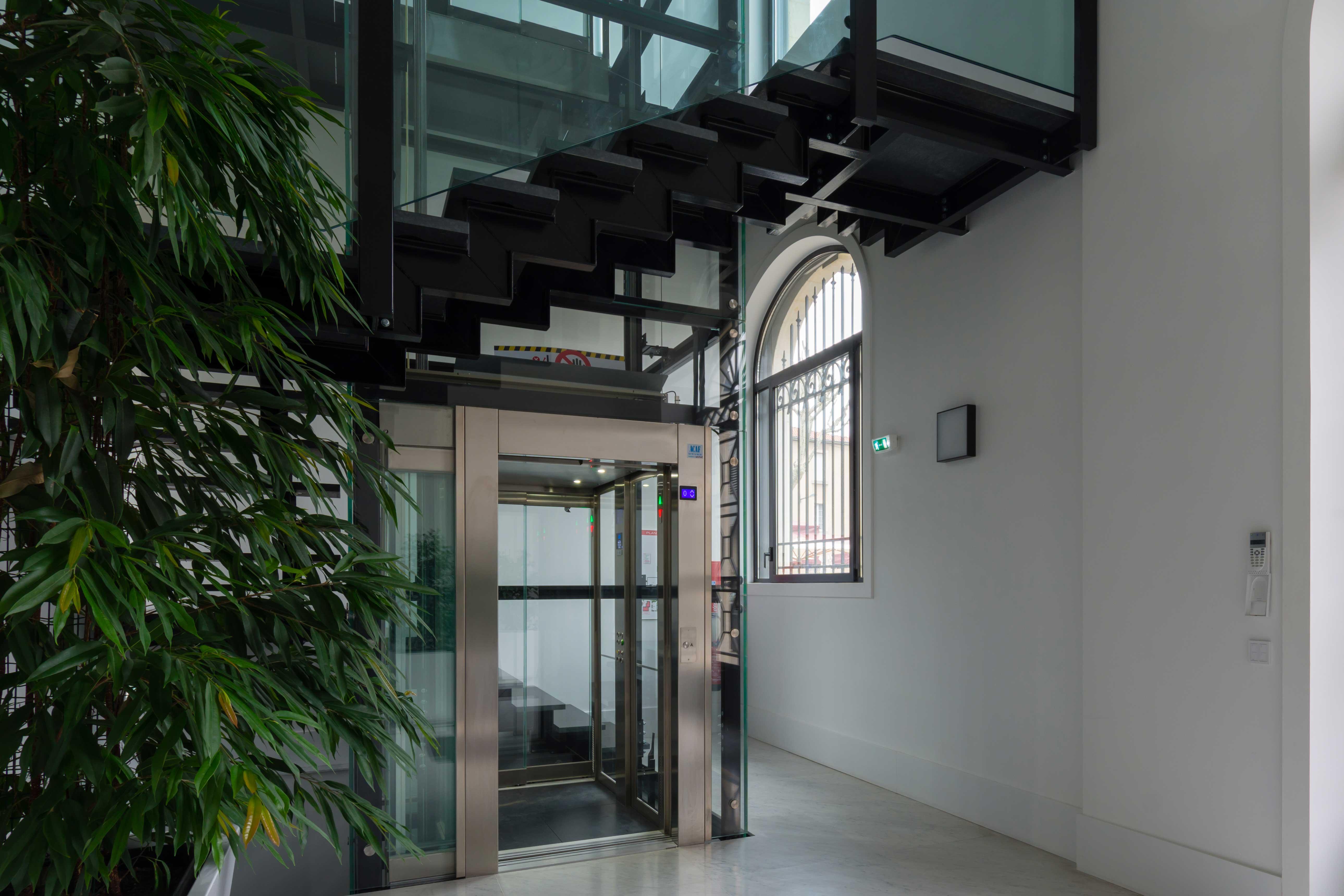 Ascenseur neuf acaf