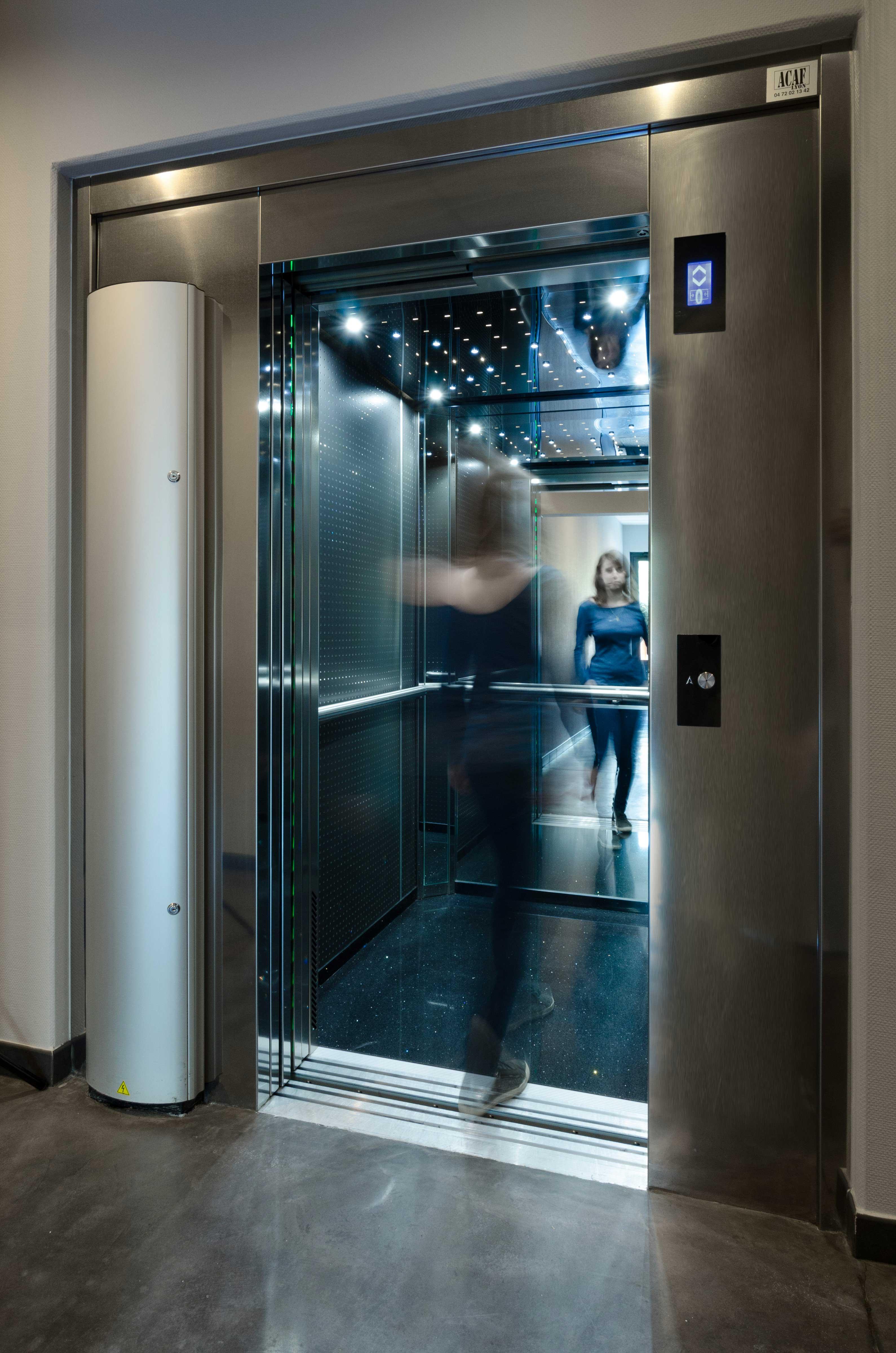 Ascenseur acaf neuf installation réparation maintenance