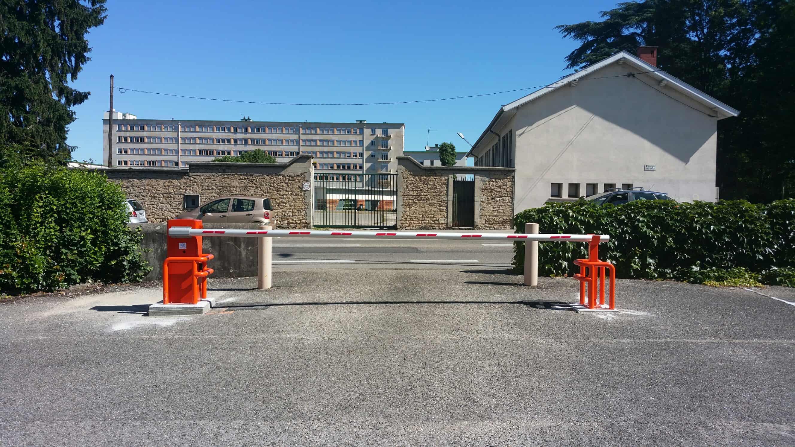 barrière levante V2 copropriété