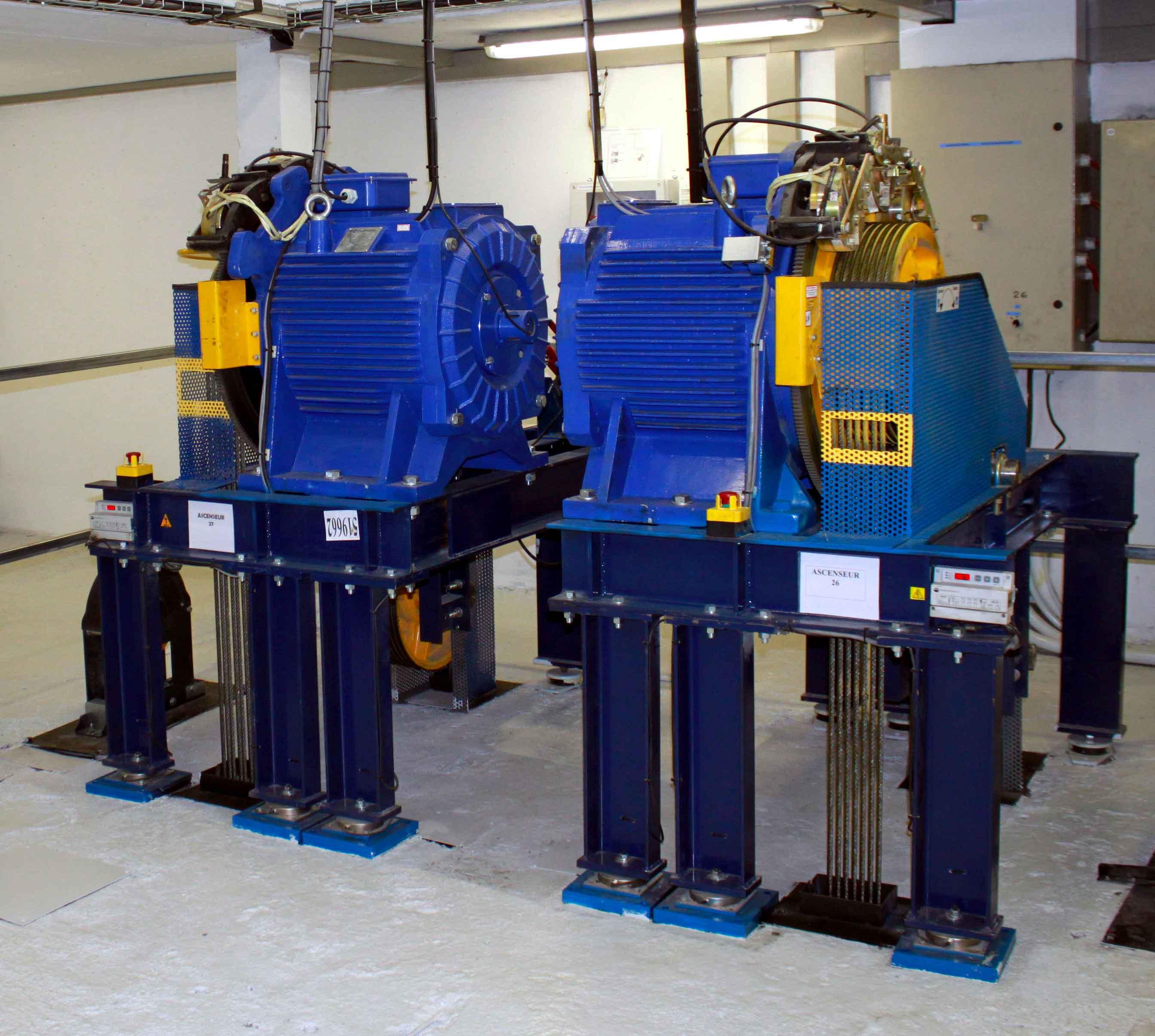 motorisation-gearless-ascenseur-ACAF-modernisation