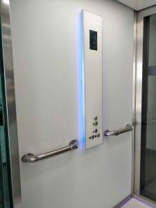 Panneau ascenseur Lyon ACAF